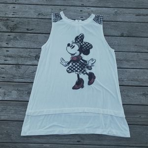 Disney parks Minnie Mouse layered tank top